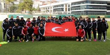 Beşiktaş A.Ş. Maçı Çalışmaları