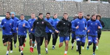 Bursaspor Maçı Çalışmaları Başladı