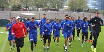 Osmanlıspor Maçı Çalışmaları Başladı