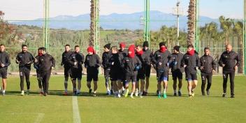 Adana Demirspor Maçı Çalışmaları Tamamlandı